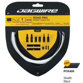 Jagwire Road Pro Brake Cable Kit, stealth black